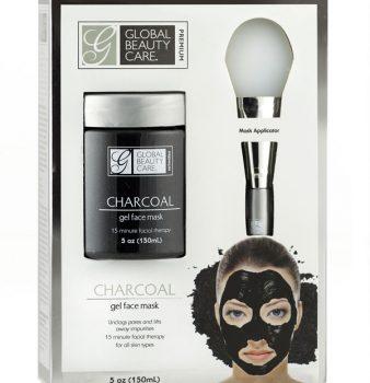 Máscara Facial de Gel de Carbón con aplicador
