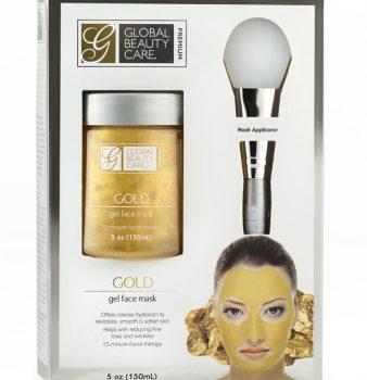 Máscara Facial de Gel Oro con aplicador